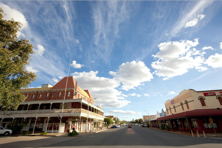 Argent Street the heart of Broken Hill