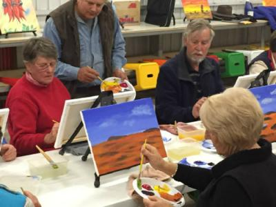 Nibbles and Canvas - Experience Broken Hill